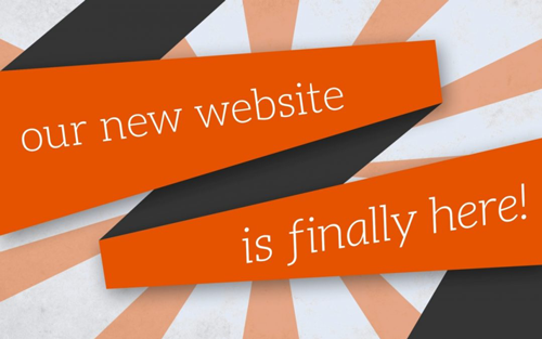 New Website! New Experience!