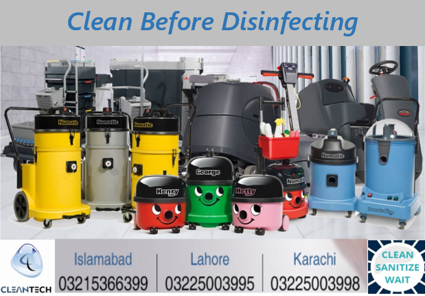 Cleaning Before Disinfecting – Importance and Requirements